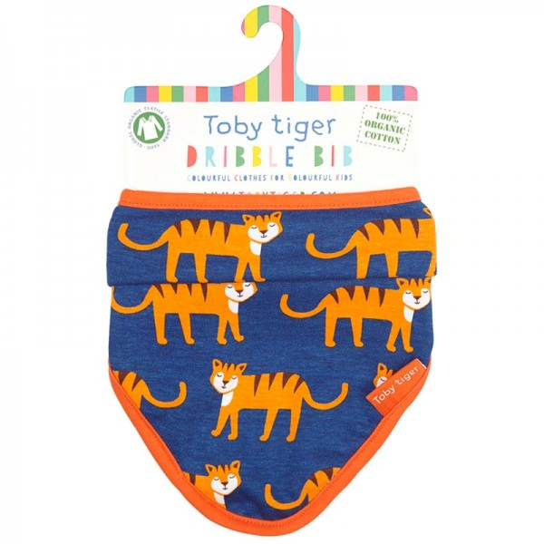 TOBY TIGER Dribble Bib TIGER