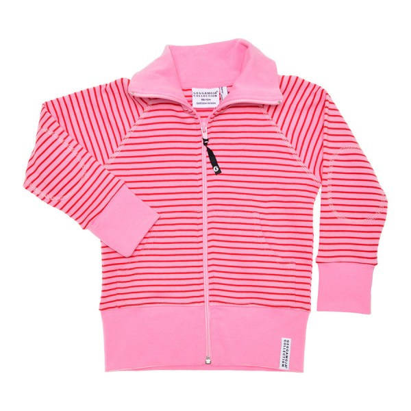 GEGGAMOJA Zipsweater CLASSIC pink/rot