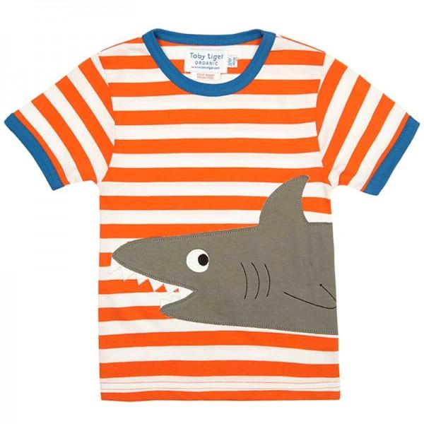TOBY TIGER T-Shirt SHARK