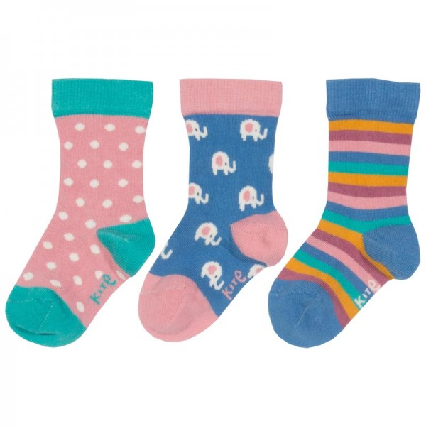 KITE Socken ELEPHANT 3 Pack