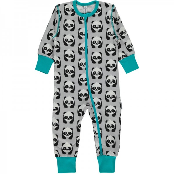 MAXOMORRA Rompersuit Zip PANDA