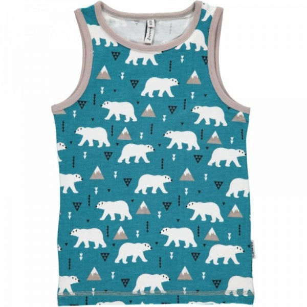 MAXOMORRA Tanktop PLUS POLAR BEAR