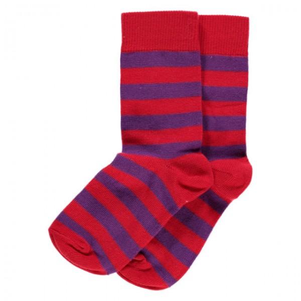 MAXOMORRA Socken Red/Purple