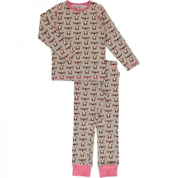 MAXOMORRA Pyjama FAWN