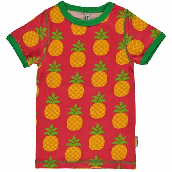 MAXOMORRA T-Shirt PINEAPPLE