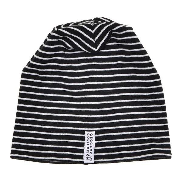 GEGGAMOJA Mütze CLASSIC schwarz/weiss