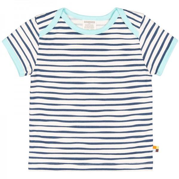 LOUD + PROUD T-Shirt RINGEL Ultramarin