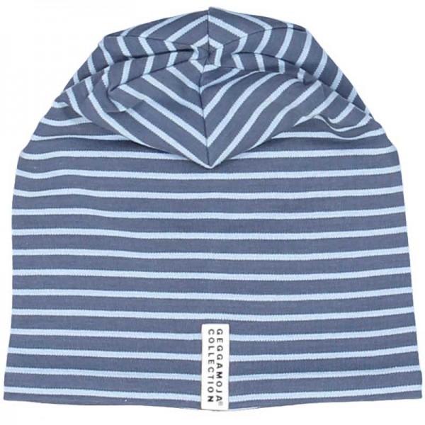 GEGGAMOJA Mütze TOPLINE Blau/Hellblau