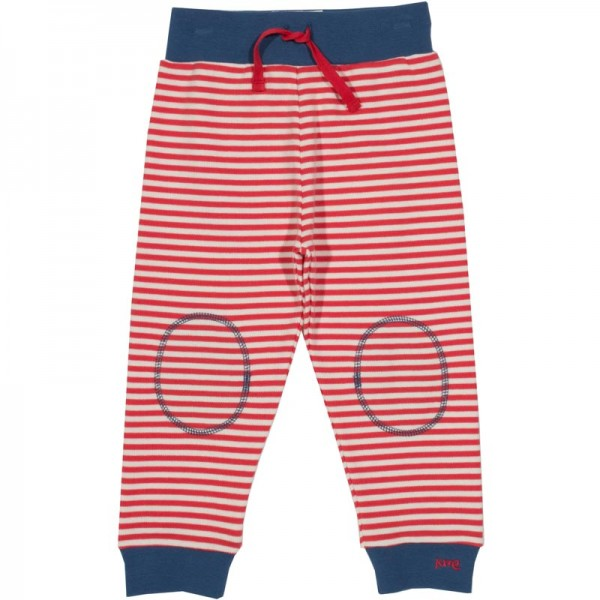 KITE Jogger STRIPES rot/weiss
