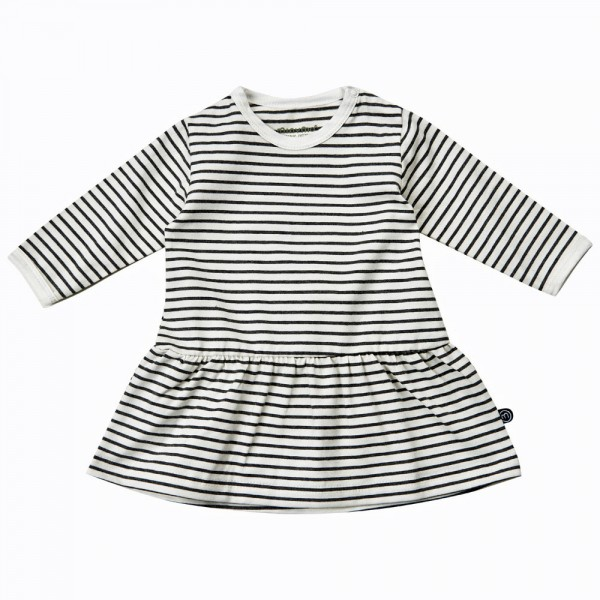 MINYMO Langarm Kleid White Stripes