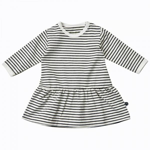 MINYMO Langarm Kleid White Stripes