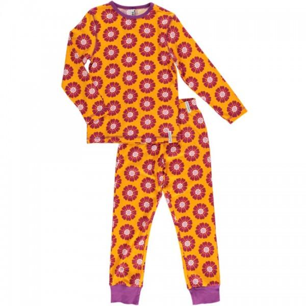 MAXOMORRA langarm Pyjama CALENDULA