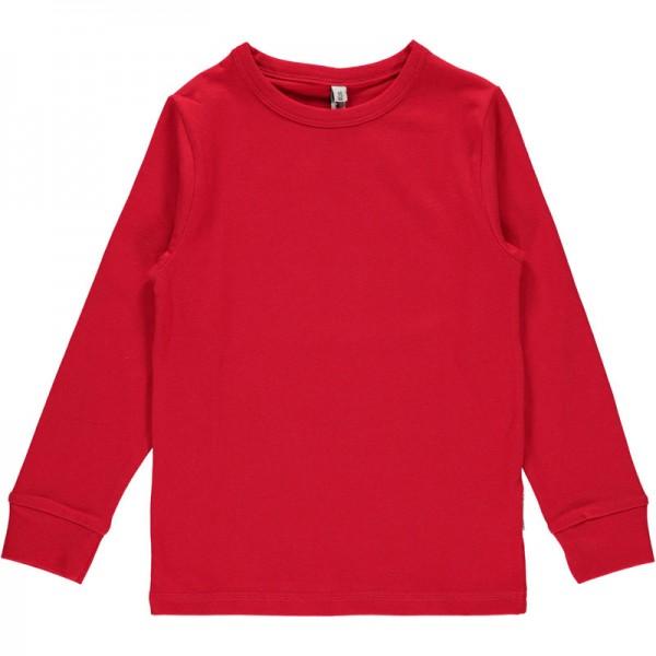 MAXOMORRA Langarm Shirt SOLID Rot