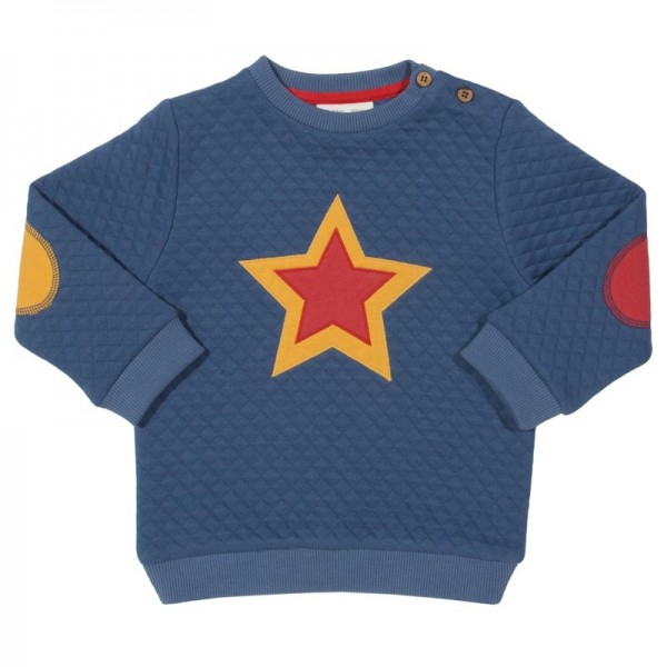 KITE Sweatshirt STAR gesteppt