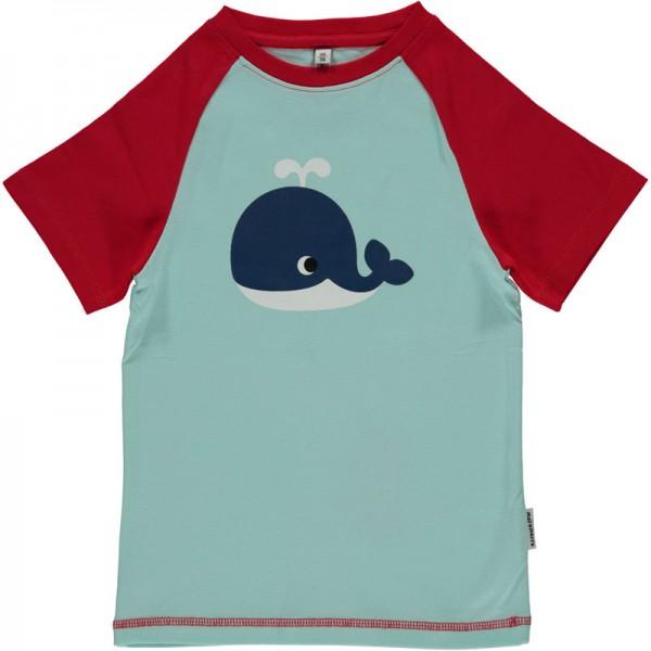 MAXOMORRA T-Shirt WHALE